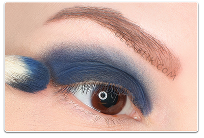 llamasqua Powder Eye Shadow in Never