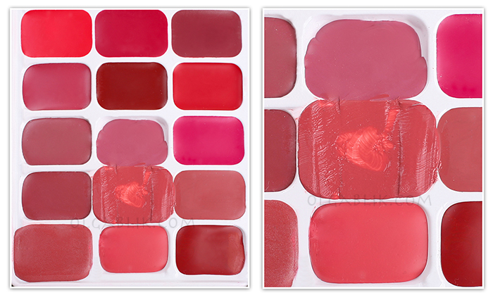 Палетка для хранения помад Japonesque Lipstick Palette Kit