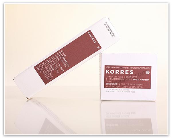 Увлажняющий крем для лица Korres Wild Rose