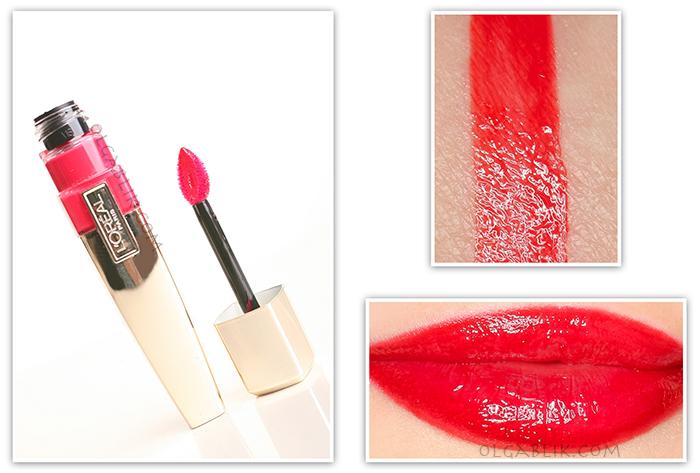 Блеск для губ L'Oreal Paris Gloss Shine Caresse - отзывы и фото