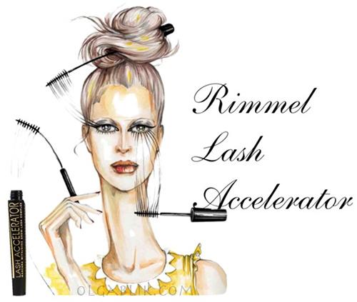 Тушь для ресниц Rimmel Lash Accelerator Mascara