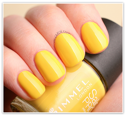 Лак для ногтей Rimmel London - Spring Yellow