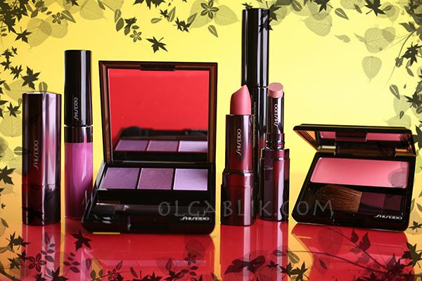 Распаковка косметики Shiseido