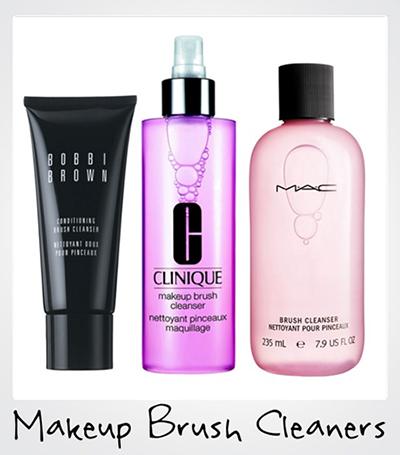 Чем очищать кисти для макияжа