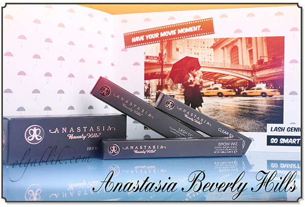Новинки для бровей Anastasia Beverly Hills