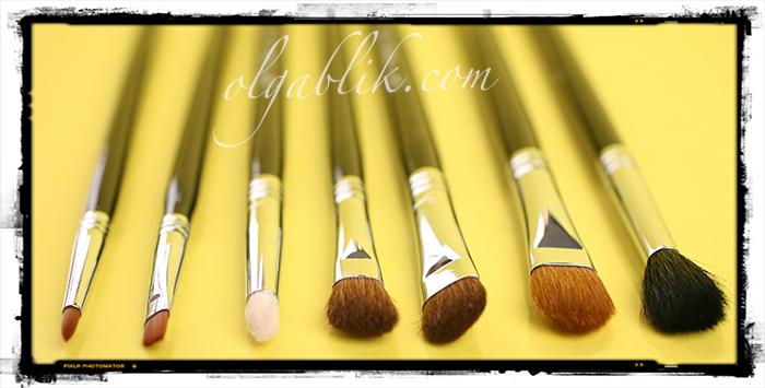 Набор кистей для макияжа Basic Eye Brush Kit - Sigma Beauty