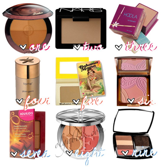 Best Bronzers powder, Как выбрать бронзер для светлой и загорелой кожи, How to Choose a Bronzer