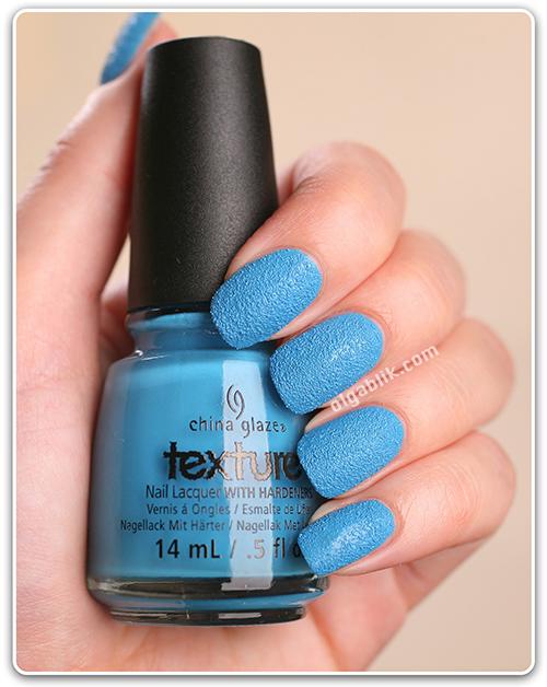 Текстурный лак для ногтей China Glaze Texture