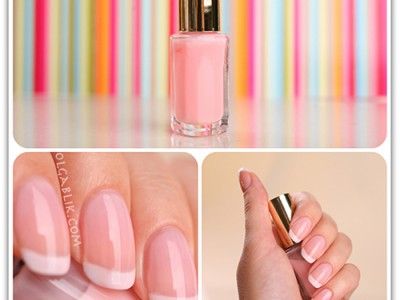 Французский маникюр с Loreal Paris Color Riche Nail 202 Marie Antoinette