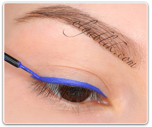 Lime Crime Liquid Eyeliner Pencil In Lazuli Royal Blue, цветная подводка для глаз