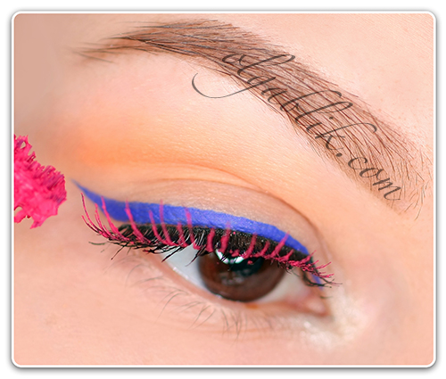 Anastasia Hypercolor Brow and Lash Tint In the Pink, Цветная тушь для ресниц.