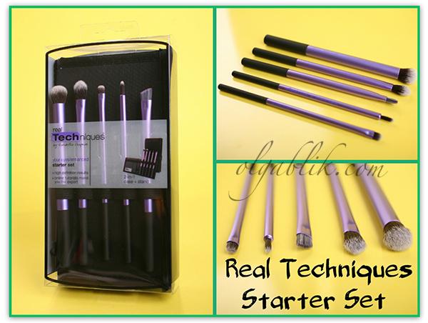 Кисти для макияжа глаз Real Techniques Starter Set