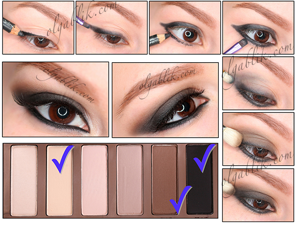 Makeup palettes for green eyes