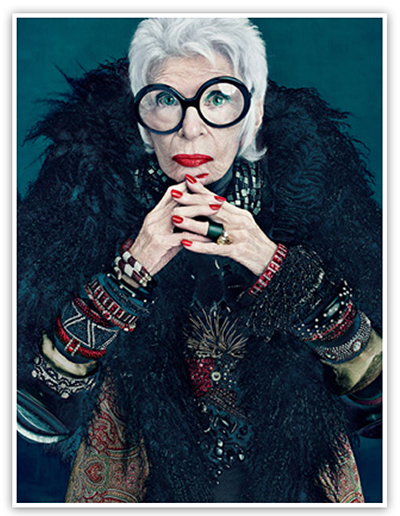 The History of M.A.C. Cosmetics,  M·A·C Pro, История косметики, Iris Apfel