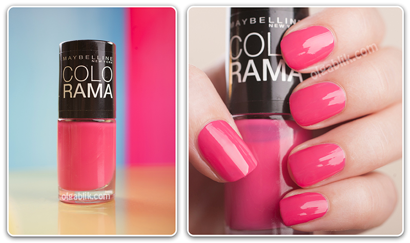 Лаки для ногтей Maybelline Colorama Nail Polish