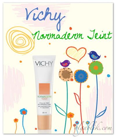 Тональный крем для проблемной кожи Vichy Normaderm Teint