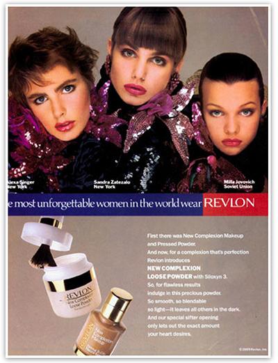Revlon Cosmetics история бренда