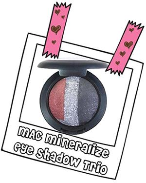 MAC Mineralize Eye Shadow Trio