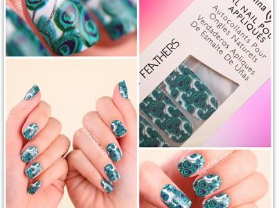 Наклейки для ногтей China Glaze Real Nail Polish Appliques «Shake Your Tail»