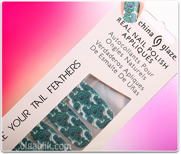 China Glaze Nail Patch Sticker