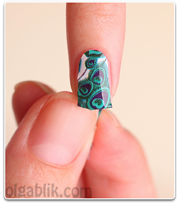 Как наклеить наклейки на ногти пошаговый урок
