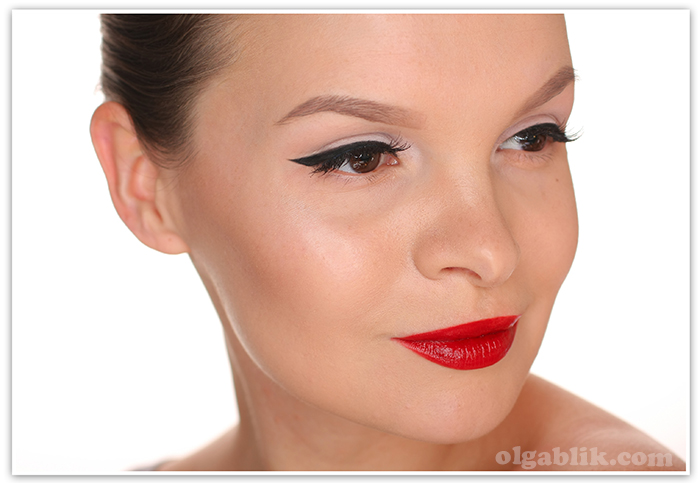 ELLIS FAAS Creamy Lips L101, красная помада, отзывы, фото, Reviews, Photos, Swatches