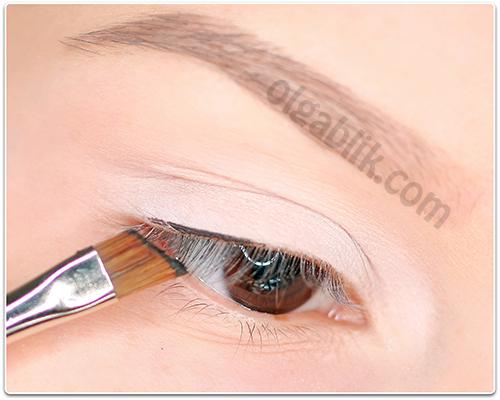 How to Apply Eyeliner, Как рисовать широкие стрелки, уроки, фото