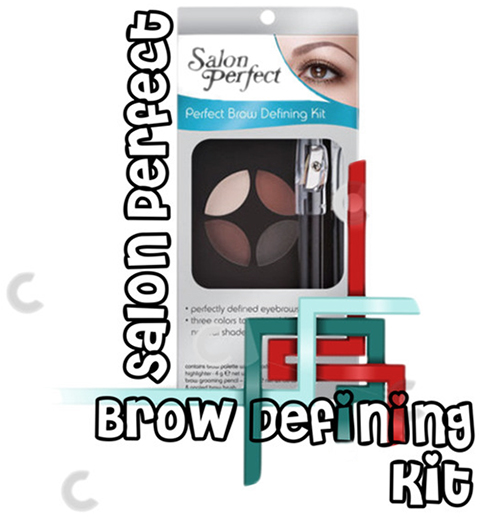 Тени для бровей, Карандаш-воск для бровей, Salon Perfect Brow Defining Kit