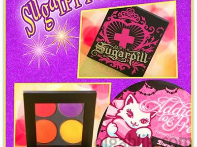 Самые пигментированные тени Sugarpill Cosmetics «Burning Heart Palette»