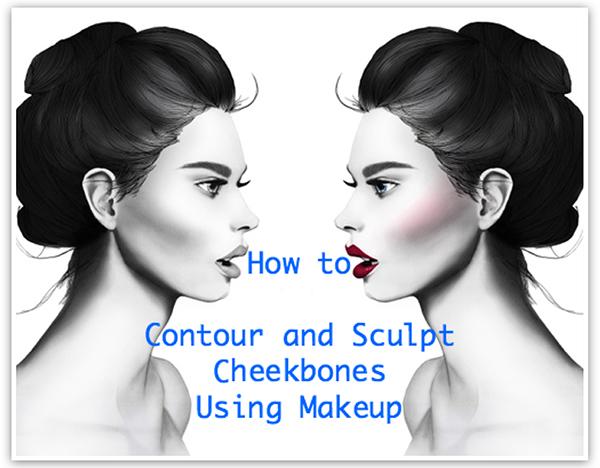 How to Contour and Sculpt Cheekbones Using Makeup скульптурирование лица, фото, правила, нанесение