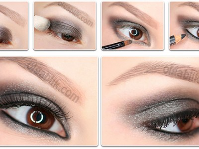 Makeup Tutorial Smokey eyes with MAC Cinderfella Mineralize Eyeshadow
