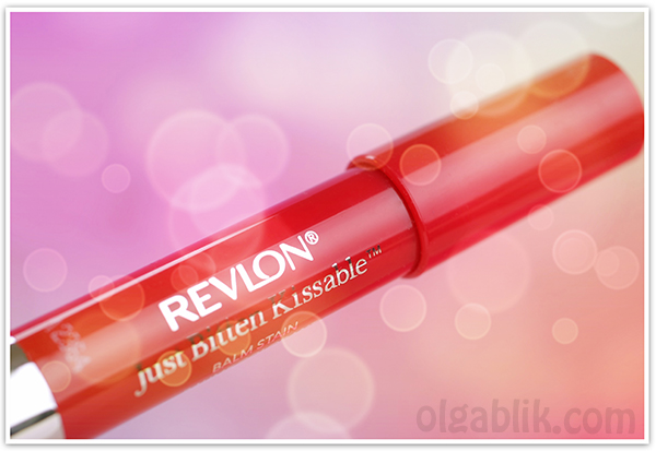 Revlon Just Bitten Kissable Balm Stain Бальзам для губ, 045 Romantic, Review, Photos, Swatches