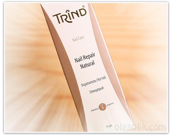 Лак для ногтей Trind Nail Repair Natural