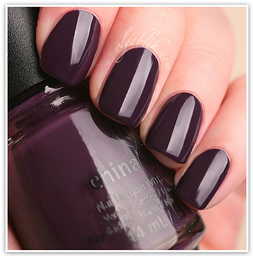 China Glaze 2013 Autumn Nights - Charmed I'm Sure, лак для ногтей, отзывы, фото, China Glaze, Nail Lacquers Reviews, Photos, Swatches