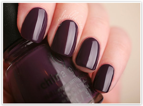 CChina Glaze 2013 Autumn Nights - Charmed I'm Sure, лак для ногтей, отзывы, фото, China Glaze, Nail Lacquers Reviews, Photos, Swatches