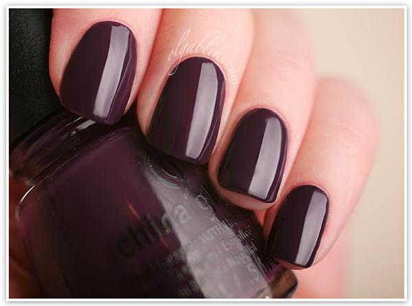 China Glaze Autumn Nights. Лак для ногтей. Отзывы. Фото.