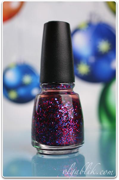 Лак для ногтей с блестками China Glaze