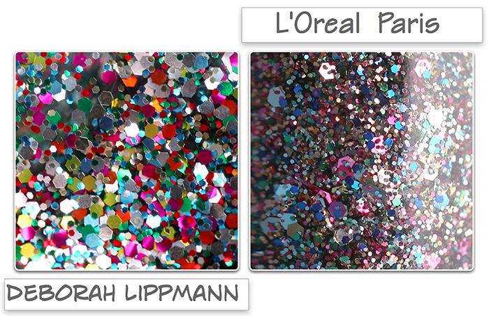 Лак-глиттер L'Oreal Paris Color Riche Nail Polish