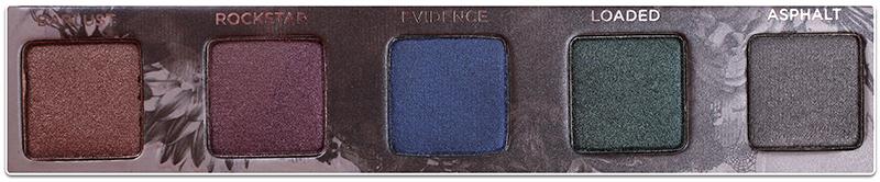Палетка Urban Decay Smoked Eyeshadow Palette