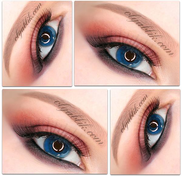 Какой макияж подчеркнет голубые глаза