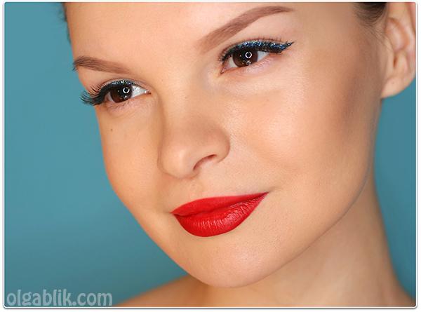 Новогодний макияж, как сделать, пошагово фото, урок, вечерний макияж