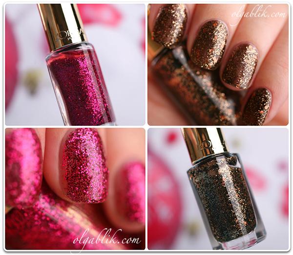 Лак с блестками для ногтей L'Oreal Paris Color Riche - отзывы