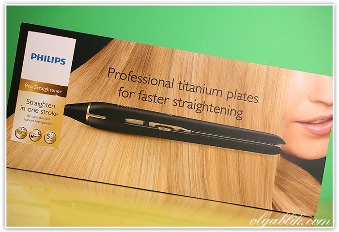 Выпрямитель волос Philips Pro Straightener HPS930 Titanium