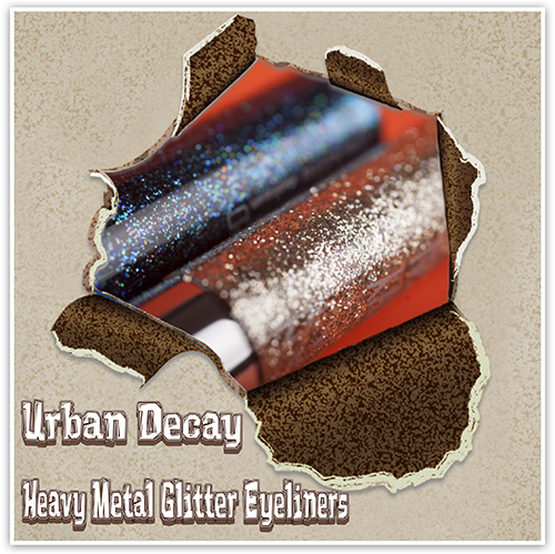 Urban Decay Heavy Metal Glitter Eyeliners, Review, Photos, Отзывы, Глиттер