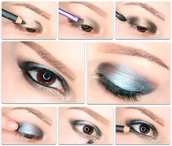 How To Apply Shades Of Eyeshadow, ���������� �����, ��������� ������, ���� ����.