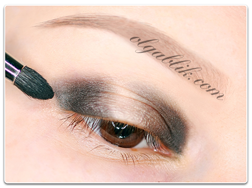 How To Apply Shades Of Eyeshadow, Растушевка теней, пошаговый мкаияж, фото урок.