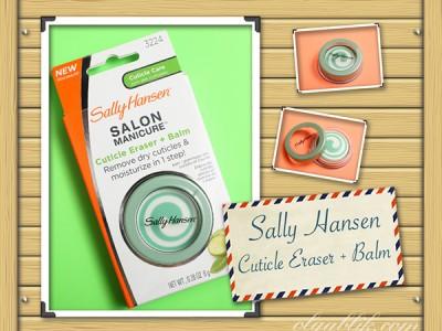 Бальзам Sally Hansen Salon Manicure Cuticle Eraser + Balm и все, что с ним связано.