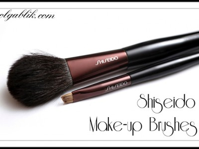 Кисти Shiseido Make-up Brushes: Blush Brush & Eyebrow and Eyeliner Brush