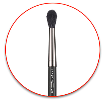 Худшая кисть для растушевки теней - MAC 224 Tapered Blending Brush