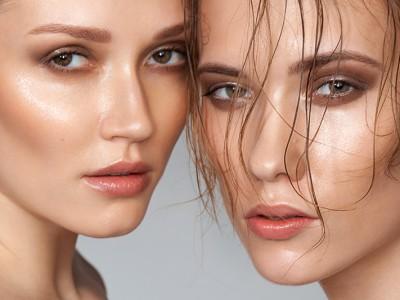 How to: эффект влажной кожи